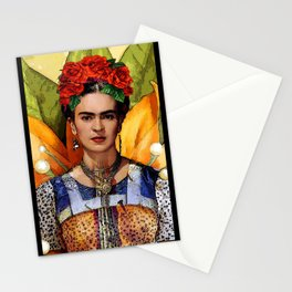 FRIDA KAHLO MARIPOSA Stationery Cards