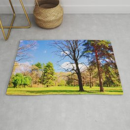 Spring In The Forest Rug