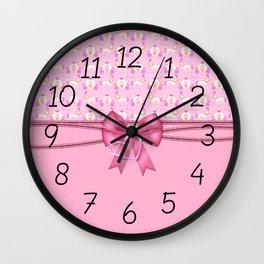 Enchanted Princess Carriage Wall Clock