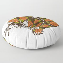 Rose Panther Floor Pillow