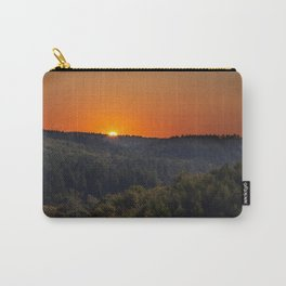 Forest Sunrise Carry-All Pouch