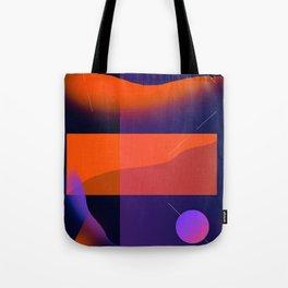 Geometric Beach Tote Bag