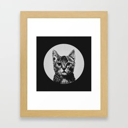 """The Year of the Cat"" Framed Art Print"