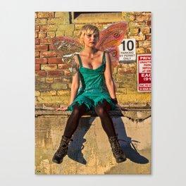 Urban Faerie III Canvas Print
