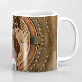 Steampunk, Funny giraffe Coffee Mug