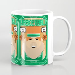 Basketball Green - Court Dunkdribbler - Josh version Coffee Mug