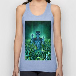 Virtual Dawn Unisex Tank Top