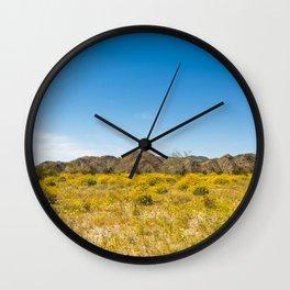 Super Bloom 7182 Paradise Joshua Tree Wall Clock