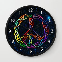 Pride and Peace Wall Clock