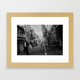 bistro & k Framed Art Print