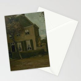 The Vicarage at Nuenen Stationery Cards