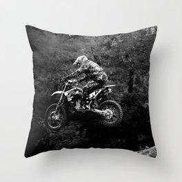 Jump MX Throw Pillow