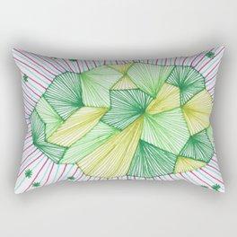 Abstract microscope element Rectangular Pillow