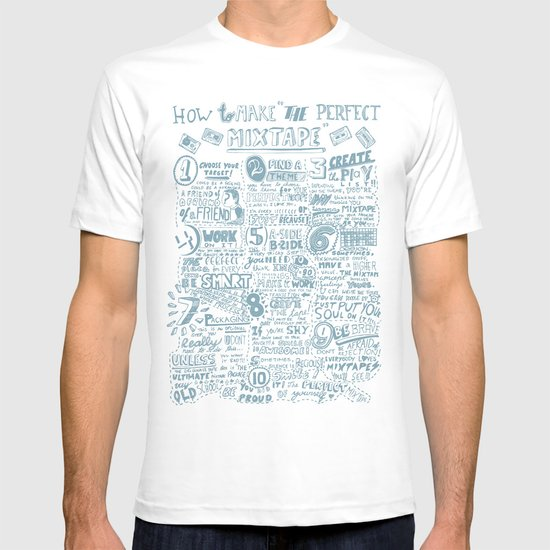 How to make the perfect mixtape T-shirt