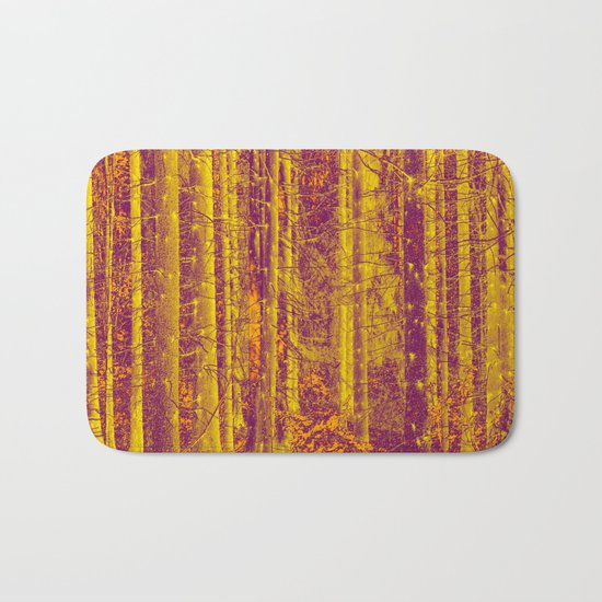 In the middle of the forest Bath Mat