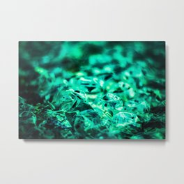 Bubble 5 Metal Print