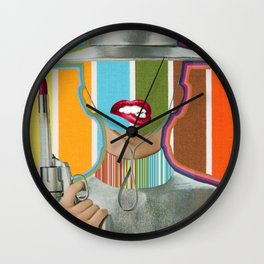LIPSTICK AS A WEAPON Wall Clock