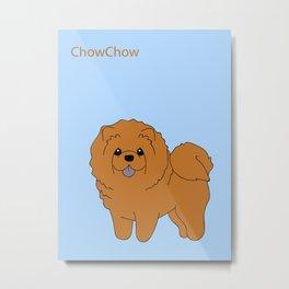 Chowchow Metal Print