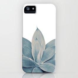 Blush Blue Agave #1 #tropical #decor #art #society6 iPhone Case