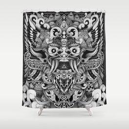 Barong Bali Shower Curtain