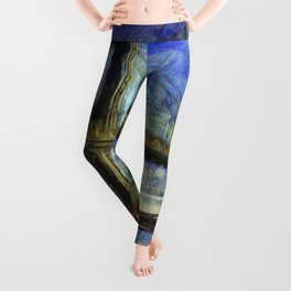 Manhattan Bridge New York Art Leggings