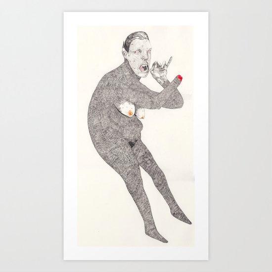 wipwolfdeath Art Print