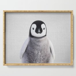 Baby Penguin - Colorful Serving Tray