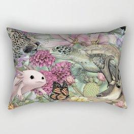 Flora and Fauna of Mexico Rectangular Pillow