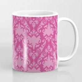 Cerise Damask Coffee Mug