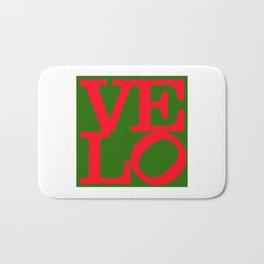 Velo Love – Logo PoP – June 12th – 200th Birthday of the Bicycle Bath Mat