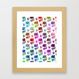 Color Craze Framed Art Print