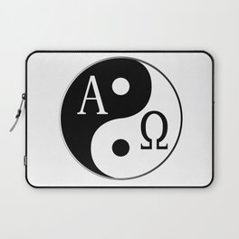 Begining to End Laptop Sleeve