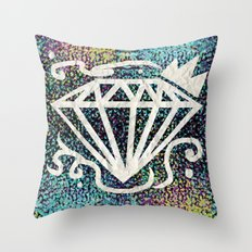 Old Rich Throw Pillow