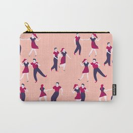 Swing dancers pattern Carry-All Pouch