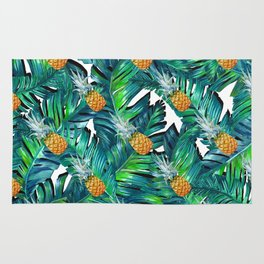 pineapple 2 Rug