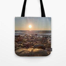 Majestic Beach Sunset Tote Bag