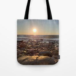 Majestic Beach Sunset Tote Bag