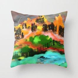Nature's Way? Throw Pillow