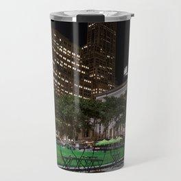 Bryant Park New York Travel Mug