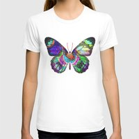 lsd T-shirts featuring LSD butterfly by Pink Eyed Paranoia