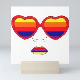 Same love Mini Art Print