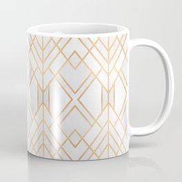 Golden Geo Coffee Mug