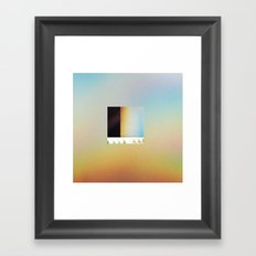 A Fear Of Machines Framed Art Print