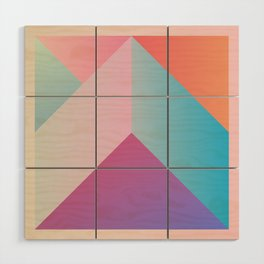 Ultra Geometric Wood Wall Art