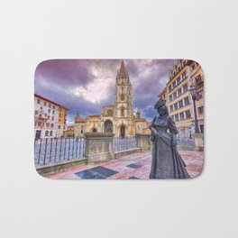 Cathedral of San Salvador  in Oviedo. Bath Mat