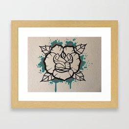 Follow you Framed Art Print