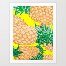 Pineapple, 2013. Art Print