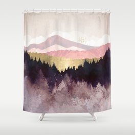 Plum Forest Shower Curtain