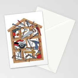 Home Construction Stationery Cards