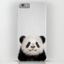 Panda Bear - Colorful iPhone Case